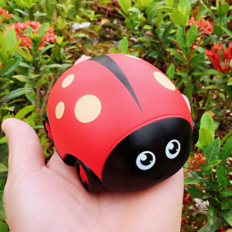 Cartoon Insect Pull-back Car Toy Inertia Fall Resistant Min Toy Car For Kids ASD88
