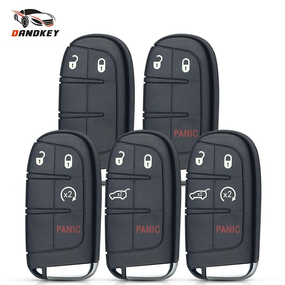 Dandkey 2/3/4/5 кнопки смарт-пульт дистанционного управления автомобильный Корпус ключа для Chrysler Dodge путешествие 2011-2015 дистанционный ключ дистанц...