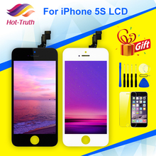 For iPhone 5s Display LCD Touch Screen Digitizer Assembly A1453 A1457 A1518 A1528 A1530 A1533 No Dead Pixel Black White