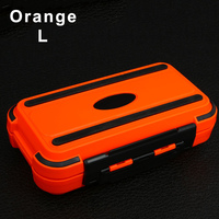 Waterproof Fishing Lure Storage Case Double Side Sea Boat Distance Carp Fly Tackle Box ENA88 Fishing Tackle Boxes     -