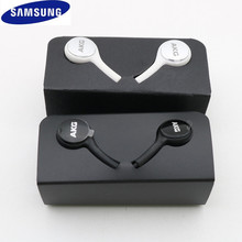 Asli Samsung S10 3.5 Mm Earphone Di Telinga Kabel Kontrol Volume Mikrofon Headset untuk AKG Galaxy S10E S9 S8 s7 S6 Plus Note 8 9 A50(China)