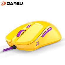 Dareu A960 Gaming Mouse PMW3389 65g Lightweight RGB Backlight Soft Wire Mice with 16000 DPI 1000Hz 50 Million Click Times [KB24]