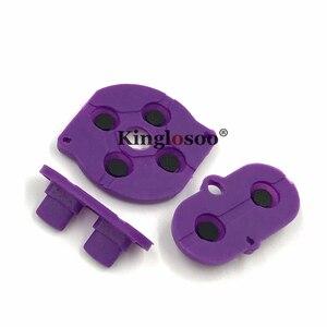 Image 3 - Couleurs caoutchouc conducteur bouton A B d pad pour jeu garçon couleur GBC coque boîtier silicone démarrage sélectionnez clavier