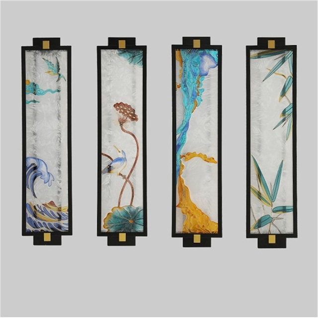 Купить домашние настенные светильники oufula креативные декоративные картинки цена