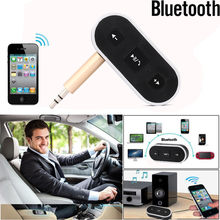 Bluetooth Adapter Audio Receiver Bluetooth Adapter Speaker Audio Receiver For Car Stereo Wireless Aux 3.5mm Jack Receiver(China)