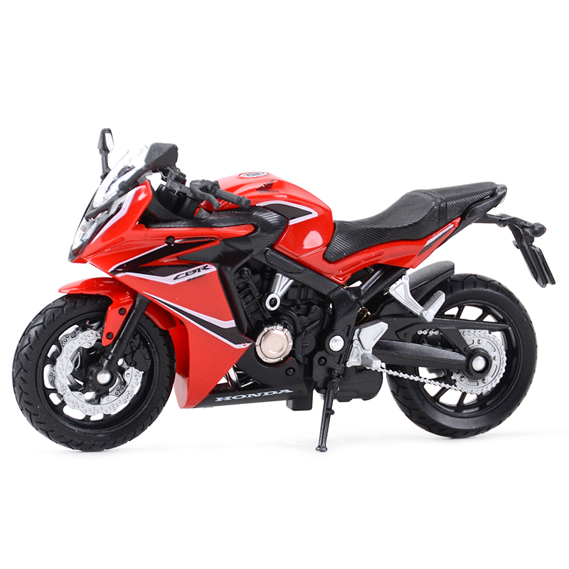 Welly 1:18 Honda CBR650F Diecast Alloy Motorcycle Model Toy