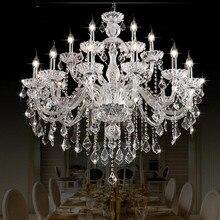 k9 crystal chandelier Lighting Living room Bedroom Dining room Lustre De Cristal Indoor home AC110V/220V modern chandeliers luxury design modern crystal chandelier led lamp ac110v 220v lustre cristal foyer chandelier lighting