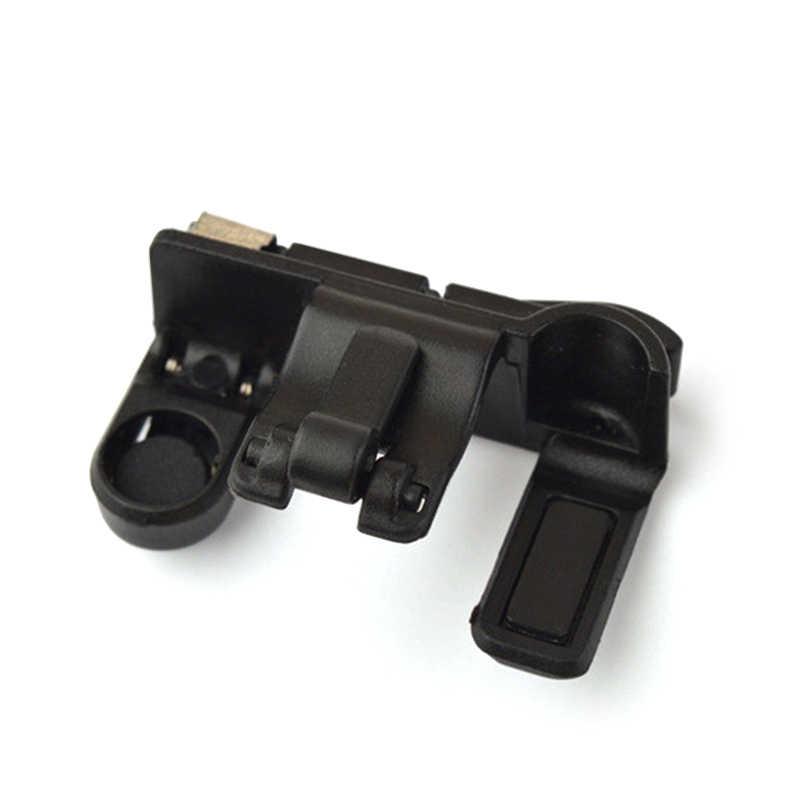 2 uds. Teléfono Inteligente gatillo para juegos Botón de fuego Gamepad mango L1R1 tirador controlador para PUBG reglas de supervivencia/cuchillos fuera