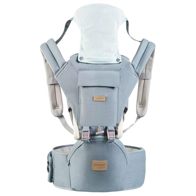 簡単ビッグ0 36ヶ月綿100% hipseat新生児ベビーキャリアmultifunctionalsローディングクマ20キロ人間工学子供スリングAG0006