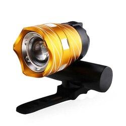 Przednie światło roweru 15000lm rower T6 LED zoom lampa przednia do roweru USB rower na akumulator lampa bezpieczeństwa latarka