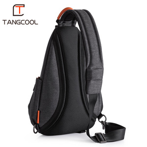 Image 5 - Tangcool Brand Design Fashion Unisex Men Leisure Messenger Bags s Cross Body Bags Leisure Chest Pack Shoulder Bags for Ipad