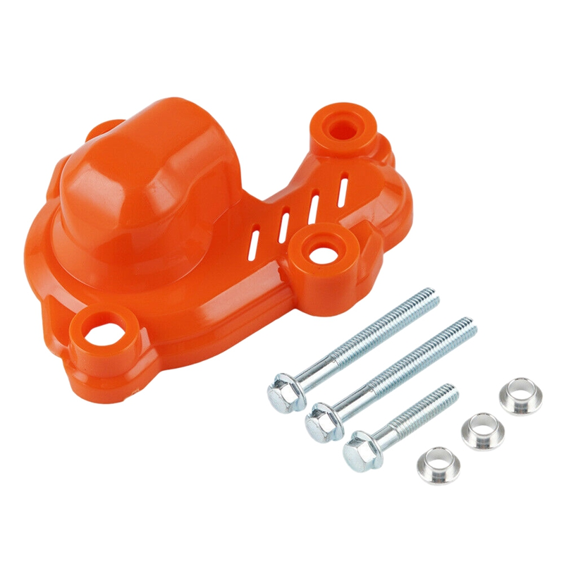 Water Pump Cover Protector For KTM 250 350 EXC-F Six Days 2017-2020 Orange