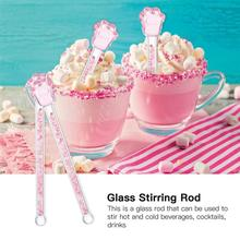 Top-Stir-Stick Stirrer Party-Supplies Sakura-Shaped Home-Bar Design Glass for Round Creative