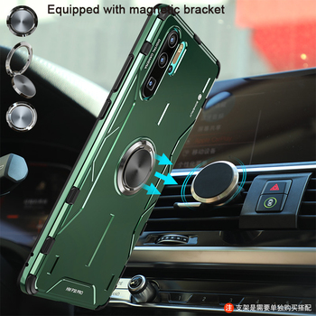 Metal Aluminum Case For Huawei P40 Pro P30 Honor 30 Mate 30 20 Pro case coque Bumper phone Case Cover shockproof Fundas Holder