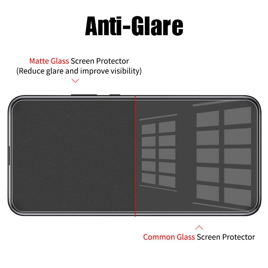 Matte Frosted Screen Protector Tempered Glass For Huawei And Honor Models 1