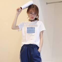 Женская рубашка с коротким рукавом 2020