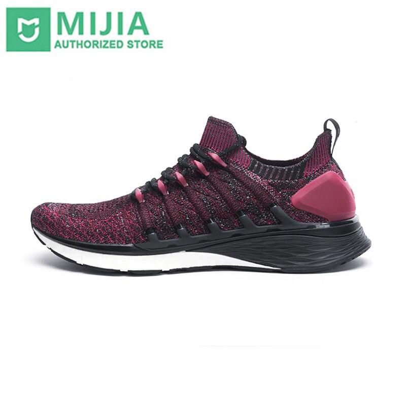 100% Original Xiao mi mi mi jia chaussures 3 baskets 3th hommes course Sport plein air nouveau Uni-moulage 2.0 confortable et antidérapant Stock