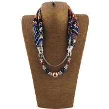 Jzhifiyer feminino inverno pendant scarfs jewellery hijab muffler chiffon scarf women ring jewelry shawls