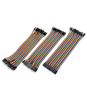 Wire Dupont Jumper Cable Wire arduino Jumper Wires Dupont for DIY Line 10CM 20CM Male to Male + Female to Male Female to Female(China)