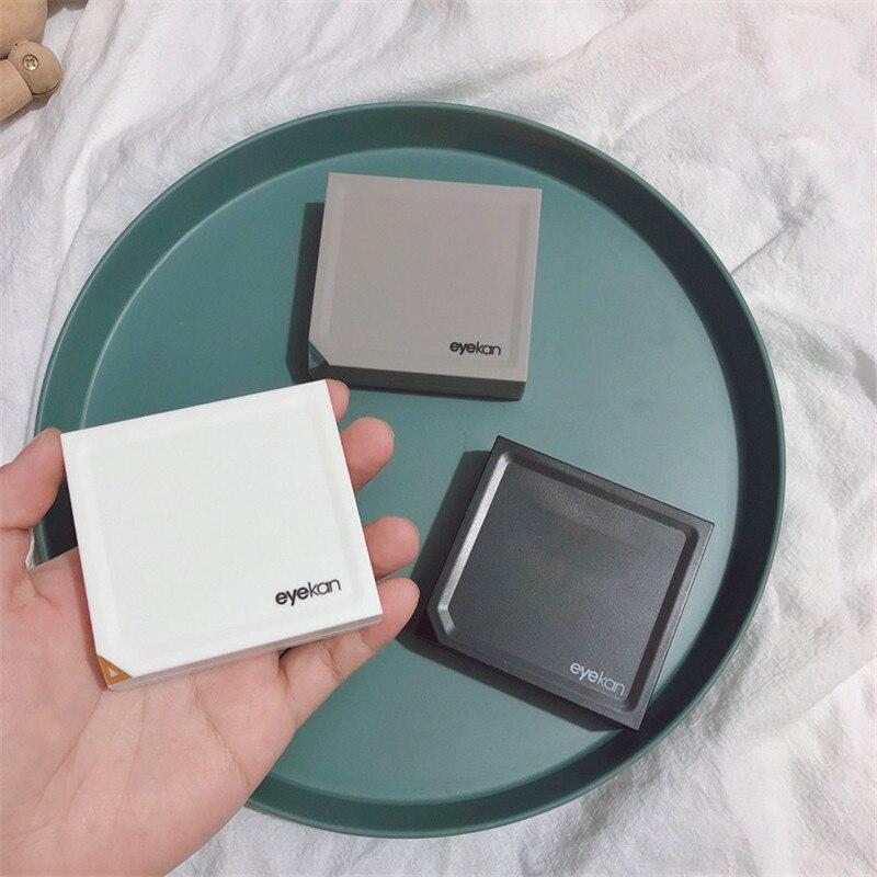 Магнитный чехол для контактных линз Ins с зеркалом, темпераментный чехол для контактных линз, коробка для хранения контактных линз в подарок