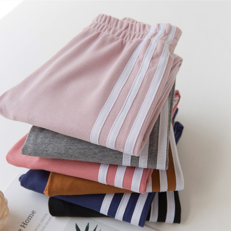 Autumn Winter Boys and Girls Trousers Stripe Sport Pants for Girls and Boys Kids Pants 5