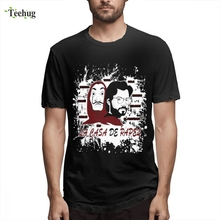 Custom Popular LA CASA DE PAPEL T Shirt For Unisex Casual Unique Design Male Graphic Clothes