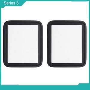 Image 4 - Netcosy piezas de repuesto para cubierta de cristal exterior frontal de 40mm y 44mm para Apple watch series 1, 2, 3, 4, 5, 38mm, 42mm, 40mm, 44mm, cristal LCD