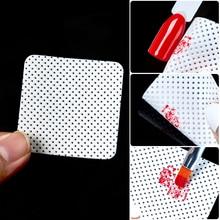 Lint-Free Nails Napkins UV Gel Polish Remover Nail Wipes Bath Manicure Gel Wipe 100% Cotton Napkins Nail Art Tools