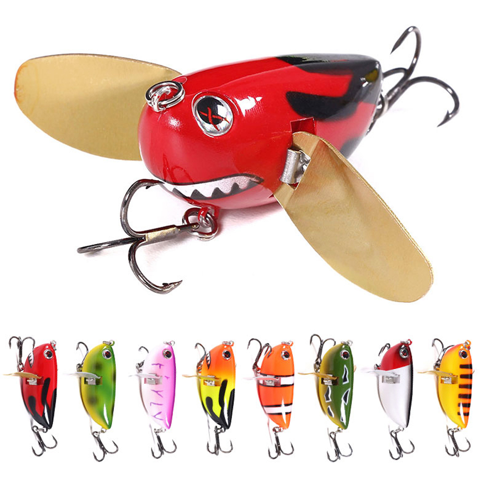 Cute Floating Bass Soft Tackle Rubber Bait Fishing Lure Hooks Frog