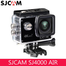 "Original SJCAM SJ4000 AIR 4K WIFI Action Camera Full HD 2.0"" Screen Mini Helmet Waterproof Sport DV Camera 170 Wide Angle Black(China)"