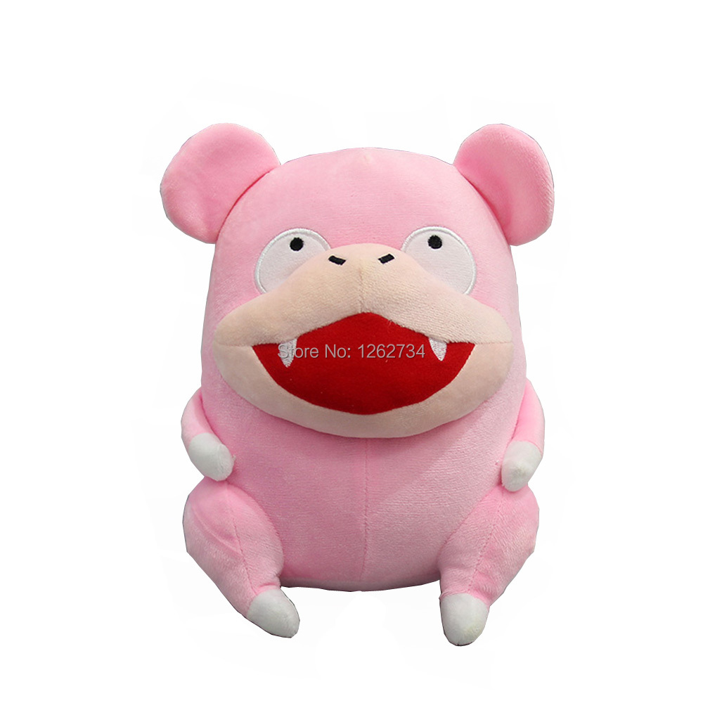 Free Shipping EMS 50/Lot Slowpoke 20CM Plush Animals Soft Stuffed Figure Toys