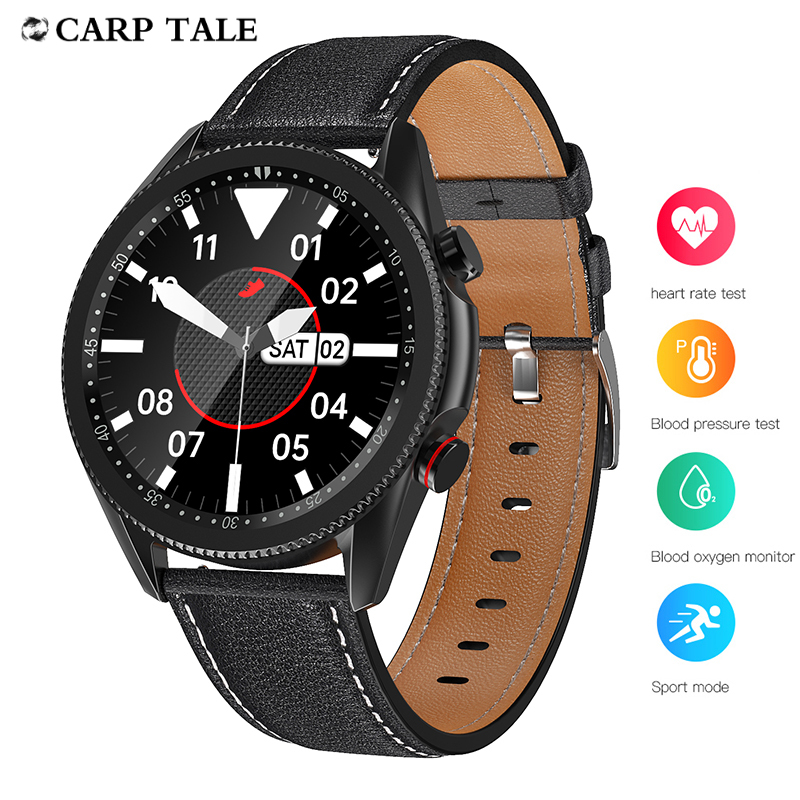2020 Bluetooth call sports smart watch man Full touch screen waterproof Health monitoring women watches for apple Android