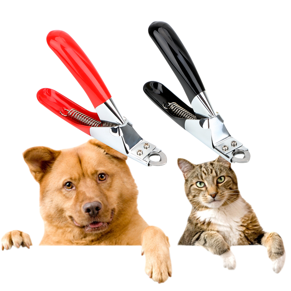 Cat Supplies Cat Grooming Pet Nail Clippers Claw Scissors Pet Products Stainless Steel