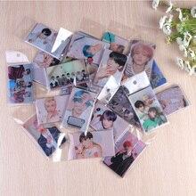 9 шт./лот, Корейский KPOP фотоальбом для мальчиков, самодельная бумага, ЛОМО карта, Фотокарта, вентиляторы, Подарочная коллекция, Канцелярский набор, наклейки KPOP