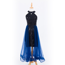Plus Size Evening Host Long Dresses High Neck Zipper Simple Party Gown Soiree Sexy   Formal Dress MS 0080