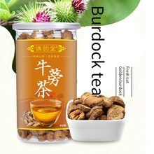 цена на Qiao Yuntang Gold Burdock Tea Canned Boxed Disk Oblique Tablet Burdock Tea Burdock Root Tea is a pure natural tea product that h