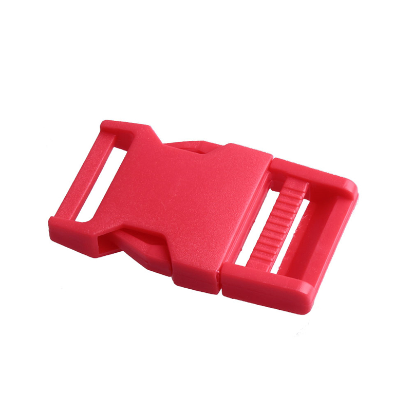 2 шт 25 мм Красочные пряжки ABS застежки для Паракорда браслет рюкзаки одежда сумки запчасти - Цвет: Red