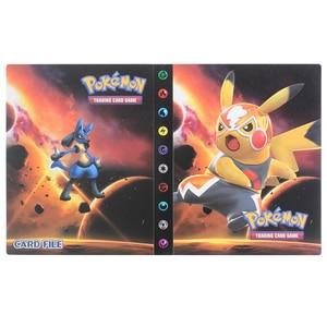 Новейший стиль 240 шт. держатель карт Pokemon альбом книга крутая коллекция папка Топ загруженный список игрушек