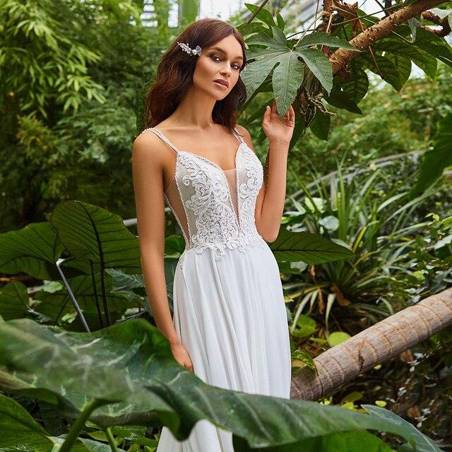 Robe de Mariage Bohème Romantique Mia