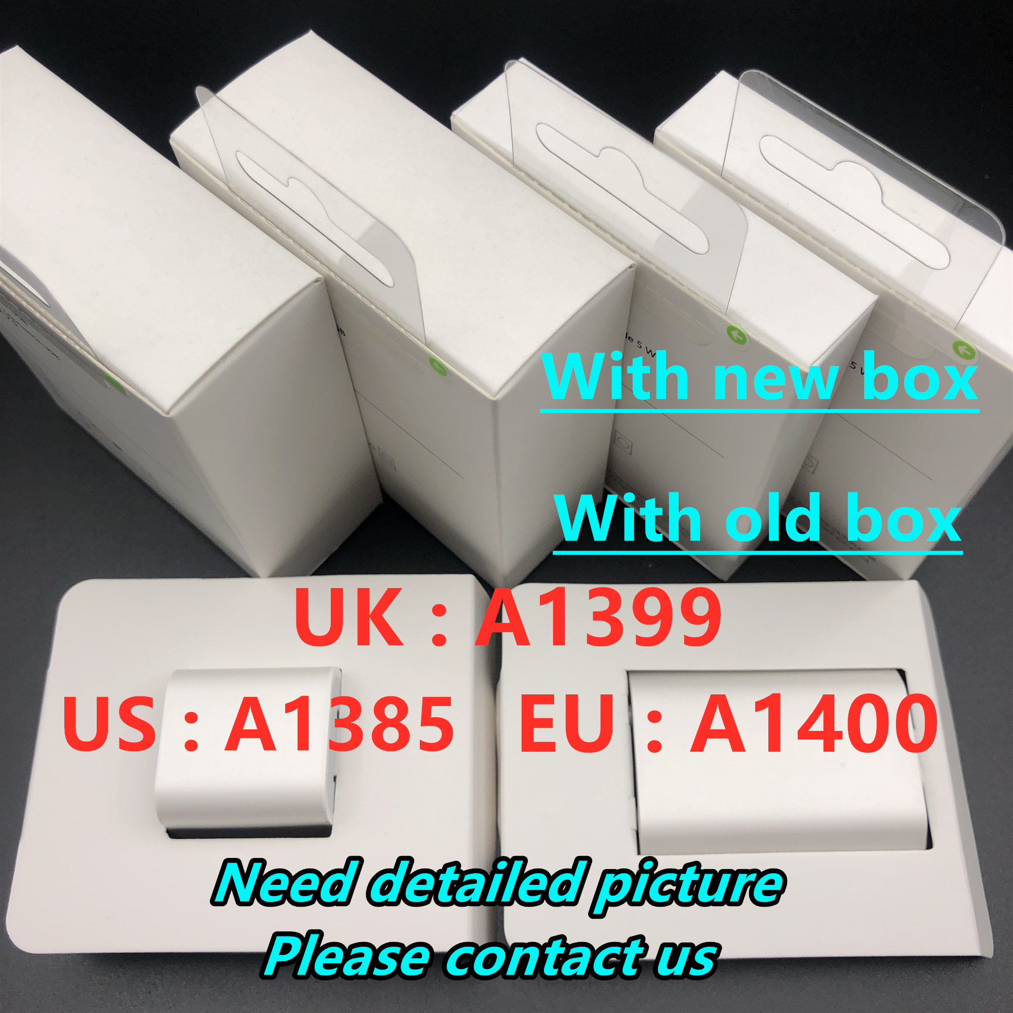10pcs/lot AAAA Quality A1400 A1385 EU US Plug USB Wall Charger AC Power Adapter For Phone 8 7 6 6S 5 5S Plus With Retail Box