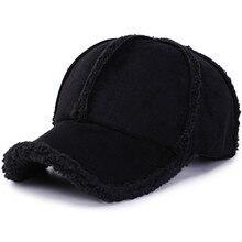 Personalidade selvagem orelha proteção boné de beisebol espessamento outono e inverno ao ar livre viagem quente chapéu romântico moda esqui boné