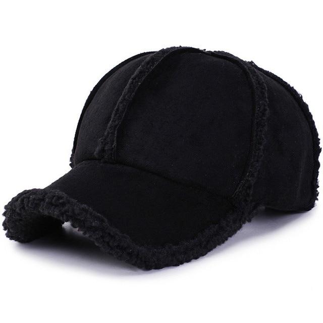 Personalità selvaggia di protezione per le orecchie berretto da baseball ispessimento autunno e l inverno allaperto di viaggio cappello caldo di modo romantico berretto da sci