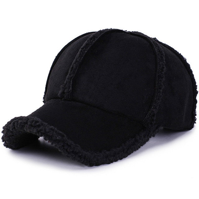 Personality wild ear protection baseball cap thickening autumn and winter outdoor travel warm hat romantic fashion ski cap