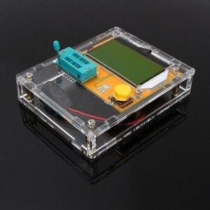 LCR-T4 mega328 transistor tester diodo triode capacitância esr teste medidores peças