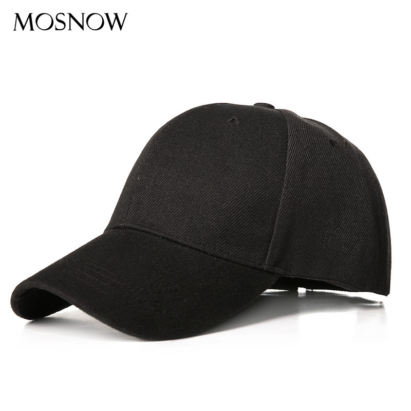 Unisex Blank Baseball Cap Panel Sport Snapback Hat Adjustable Sun Polyester Hats Spring Summer Women Outdoor Baseball Caps