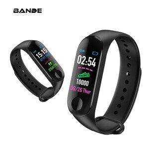 Image 1 - BANDE GPS スマート腕時計メンズ 3 グラム Sim の Bluetooth 心拍数モニターフィットネストラッカースポーツスマートウォッチ