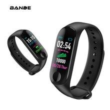 BANDE GPS smart Watch mężczyźni 3G SIM Bluetooth zegarek pulsometr centrum Tracker Sport smart Watch