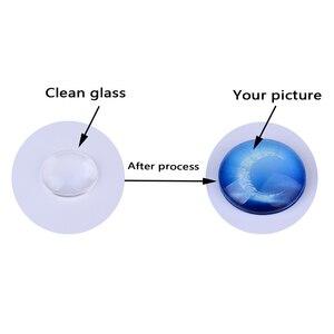 Image 2 - Papel de impresión de pegamento sin sombreado UV especial para hacer imágenes, joyería de cabujón de vidrio, tamaño A4, 100 unids/lote
