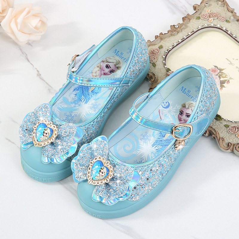 Girls Princess Shoes 2020 Spring New Children's Single Shoes Little Girl Casual Thick-bottom Shoes Baby Non-slip Shoes