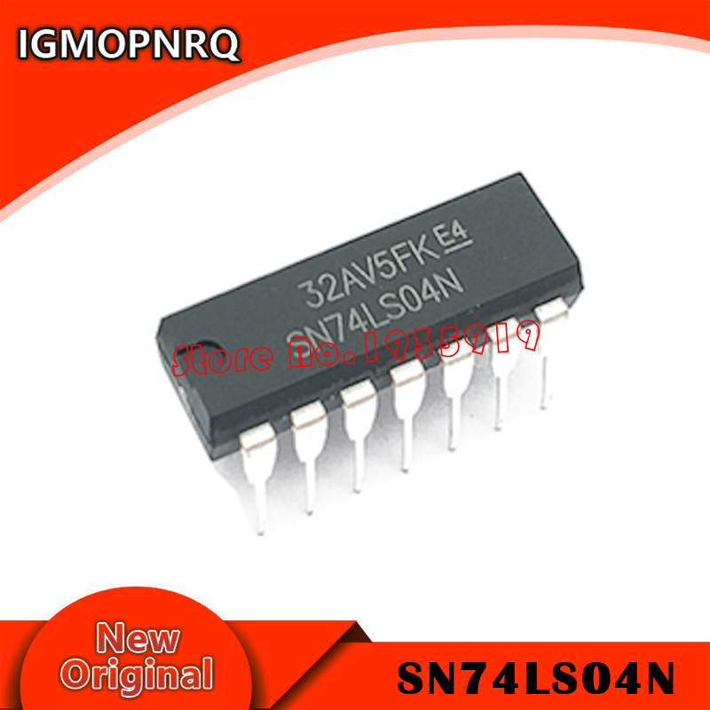 10PCS SN74LS04N DIP14 SN74LS04 DIP 74LS04N 74LS04 DIP-14 HD74LS04P New And Original IC